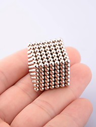 cheap -Magnet Toys 216Pcs 3mm Magnet Toys Executive Toys Puzzle Cube DIY Toys Magnetic Balls Silver Education Toys For Gift
