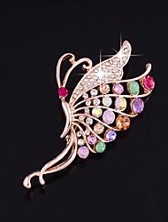 baratos -Mulheres Broches - Fashion Broche Rosa cor de Rosa Para Casamento