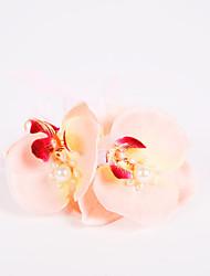"""abordables -Fleurs de mariage Petit bouquet de fleurs au poignet Mariage Fête / Soirée Mousseline de soie Polyester Mousse 3.94""""(Env.10cm) 5cm"""