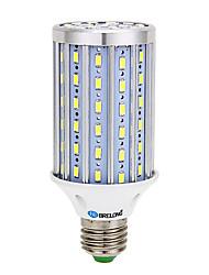 economico -BRELONG® 1800lm E14 E26 / E27 B22 LED a pannocchia T 90 Perline LED SMD 5730 Decorativo Bianco caldo Luce fredda 85-265V
