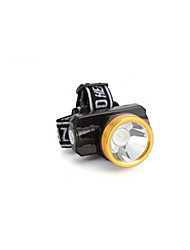 Headlamps LED 200 Lumens 2 Mode LED Lithium Battery Rechargeable Camping/Hiking/Caving Everyday Use Hunting