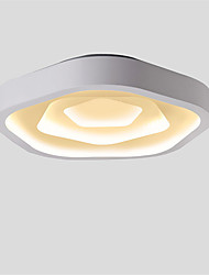 cheap -Traditional/Classic Modern/Contemporary Mini Style LED Flush Mount Ambient Light For Living Room Bedroom Kitchen Dining Room Study