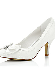 Žene Cipele Svila Proljeće Ljeto Udobne cipele Cipele na petu Stiletto potpetica Štras za Vjenčanje Formalne prilike Zabava i večer