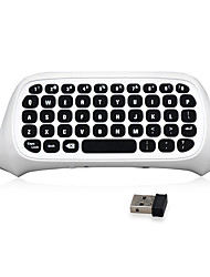 cheap -2.4G Mini Wireless Chatpad Message Keyboard for Microsoft Xbox One S Slim Controller (White)
