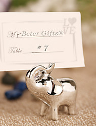 cheap -Lucky in Love Lucky Elephant Place Card Holder Beter Gifts Wedding Decorations