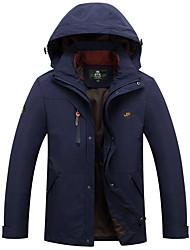 Hiking Softshell Jacket Men's Waterproof /Windproof / Dust Proof / Static-free / Comfortable Winter TactelNavy