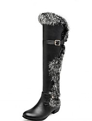 baratos -Mulheres Sapatos Courino Couro Envernizado Primavera Outono Inverno Curta / Ankle Botas de Moto Botas da Moda Botas de Montaria Botas de