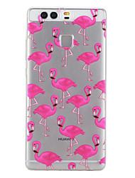 economico -Per retro A fantasia Mattonella TPU Morbido Copertura di caso per Huawei Huawei P9 / Huawei P9 Lite