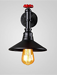 cheap -Max 60W Loft vintage Industrial Edison Fashion Simplicity Wall Sconce Metal Base Cap