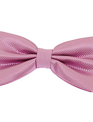 cheap -Men's Polyester Bow Tie,Vintage Party Work Casual Jacquard All Seasons Navy Blue Pink Light Green