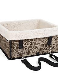abordables -Perro Transportines y Mochilas de Viaje Mascotas Cestas Portátil Negro Beige Morrón Oscuro Plateado/Gris Para mascotas