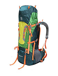 cheap -Sheng yuan 80 L Rucksack Hiking & Backpacking Pack Camping / Hiking Climbing Traveling Heat Insulation Moistureproof/Moisture