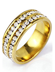 cheap -Men's Band Ring - Rock / Punk Golden Ring For Christmas Gifts / Daily / Casual