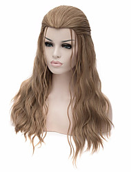 cheap -Cosplay Wigs Long Flaxen Synthetic Anime Hair Cosplay Halloween Men Hairstyle Wig