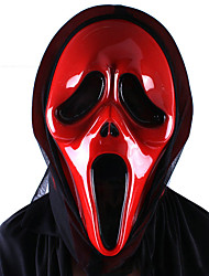 um deus do fantasma terror morte exclamou uma máscara facial bruxa do dia das bruxas boca torta máscara de vampiro grito