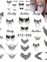 preiswerte -Nail Art Nail Sticker Nail Art Design Make-Aufkleber Wassertransfer Abziehbilder