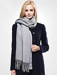 Winter Solid  Women Cotton Scarf