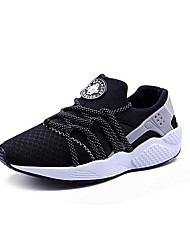 Unisex Athletic Shoes Spring / Fall Comfort Tulle Casual Flat Heel  Black / Red / Gray Sneaker