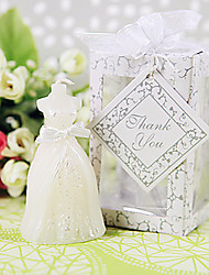 cheap -Bridal Wedding Dress Candle Favors Beter Gifts Bridesmaids / Bachelorette / Classic / Fairytale Party Giveaways