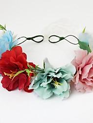 couronnes de tissu headpiece noce élégant style féminin classique
