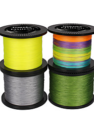 Anmuka Brand PE Braided Fishing Line 8 strands 1000M/1100Yards/500M/550Yards SuperPower Green/White/Yellow Gray Smooth