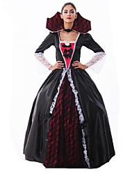 billige -Oktoberfest Karriere Kostumer Cosplay Kostumer Sexede Uniformer Flere Uniformer Jul Halloween Karneval Festival / Højtider Terylene Karneval Kostume Farveblok