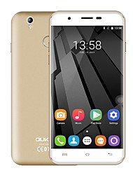 "baratos -OUKITEL U7 PLUS 5.5 "" Android 6.0 Smartphone 4G (Chip Duplo Quad Core 13 MP 2GB + 16 GB Cinzento / Dourado / Rosa)"