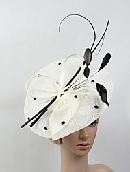 cheap -Feather Net Fascinators Headpiece Elegant Classical Feminine Style
