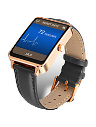 abordables -Reloj elegante para iOS / Android / iPhone Monitor de Pulso Cardiaco / Calorías Quemadas / Standby Largo / Llamadas con Manos Libres / Pantalla Táctil Recordatorio de Llamadas / Seguimiento del Sueño