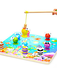 Magnet Toys Pieces MM Magnet Toys Fishing Toys Fish 3D Executive Toys Puzzle Cube For Gift