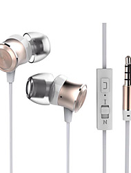 CSONG W9 In-Ear Earphone Stereo Bass 3.5mm Material Metal EarPhone Wire Bass Universal Headsets for iPhone Samsung
