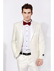 Tuxedos Slim Peak Single Breasted White