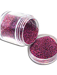 cheap -10g Shining Sugar Glitter Dust Powder Nail Art Decoration Acrylic Nail Glitter Powder #533-542