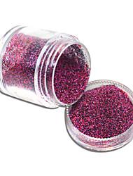 abordables -1 bottle Nail Art Decoración Las perlas de diamantes de imitación maquillaje cosmético Nail Art