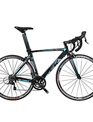 Vélos Confort Cyclisme 18 Vitesse 27 pouces Shimano Frein en V Sans Amortisseur Cadre en Alliage d'Aluminium Ordinaire