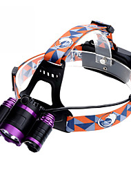 U'King ZQ-X826 Headlamps Headlamp Straps Headlight LED 9000LM lm 4 Mode Cree XM-L T6 Adjustable Focus Rechargeable Compact Size High