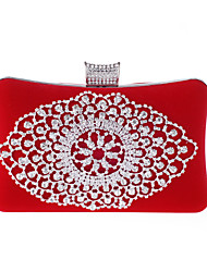 cheap -Women's Bags Special Material Evening Bag Pearl / Crystal / Rhinestone Red / Blue / Golden