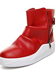 Muškarci Čizme Jesen Zima Udobne cipele Čizme gležnjače Modne čizme Koža Aktivnosti u prirodi Ležeran Atletika Ravna potpetica