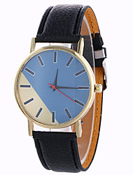 Women's Fashion Analog Stripe Ladies' Christmas Casual Display Strap Bohemia Quartz Wrist Watch