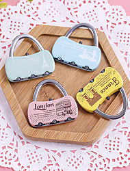 Luggage Lock Coded Lock Digit Portable Luggage Accessory Anti-theft For Luggage
