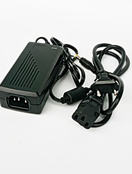 cheap -GM2402 48W 24V 2A EU Plug AC / DC Power Adapter for LED Light Strip - Black (100~240V)