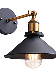 cheap -22cm Loft vintage Industrial Edison Fashion Simplicity Wall Sconce Metal Base Cap Max 60W