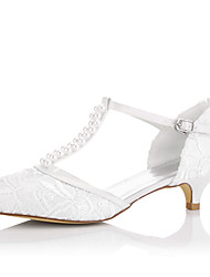 cheap -Women's Sandals Spring / Summer / Fall Wedges Lace / Silk Wedding / Party & Evening / Dress
