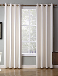 cheap -Two Panels Modern Solid Bedroom Blackout Curtains Drapes Home Decoration For Window