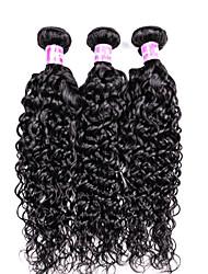 cheap -Water Wave Hairs 3 Bundles Brazilian Virgin Hair Extensions 300 gram Brazilian Human Hair Bundles Women Hairs