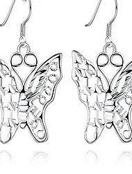 cheap -May Polly Europe and the United States fashion Butterfly Earrings