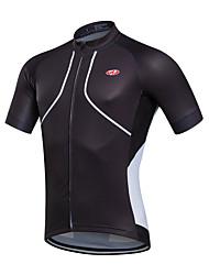 economico -Fastcute Per uomo Manica corta Maglia da ciclismo - Nero / Rosso / Verde / Blu Bicicletta Maglietta / Maglia, Asciugatura rapida,