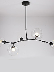 cheap -Villa Industrial Wind Restoring Ancient Ways Glass Ball Chandelier