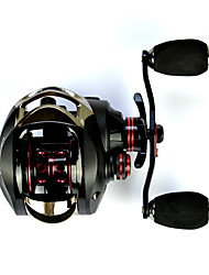 cheap -Baitcasting Reel 7.0:1 Gear Ratio+14 Ball Bearings Left-handed Sea Fishing - OXLEFT