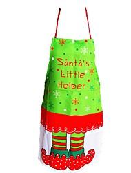 abordables -heureux tabliers de noël  robe cuisson père vêtements   manger tabliers dîner décoration de Noël
